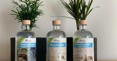 Ulrich Natürlich Glasflaschen (Bildquelle: Ulrich Natürlich I https://web.facebook.com/UlrichnatuerlichEresing)