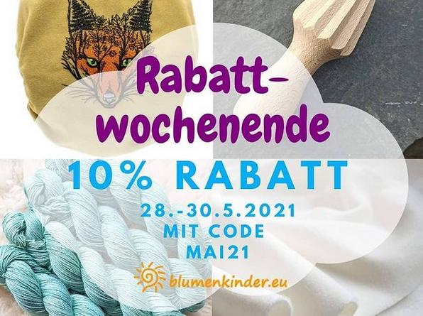 Blumenkinder Rabatt-Wochenende (Bildquelle: Blumenkinder | https://www.instagram.com/p/CPaUNZ1FhkY/)