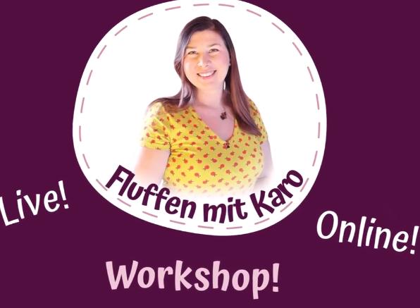 Flufstore Workshop (Bildquelle: Fluff Store | https://www.instagram.com/p/CPIYYM_KrU6/)