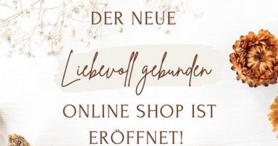 Neuer Shop Liebevoll gebunden (Bildquelle: liebevoll gebunden | https://www.instagram.com/p/COqXmKyF9oR/)