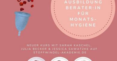 Ausbildung zur Berater:in für Monatshygiene (Bildquelle: Stoffwindel-Akademie | https://www.instagram.com/p/CO5UAJGlDWw/)