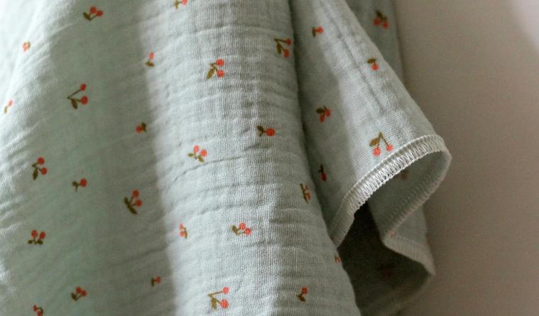 Neue Mullwindeln bei Jovoh (Bildquelle: Jovoh Design | https://jovoh.com/produkt/cotton-muslin-folding-insert-cherry-mint/?lang=de)