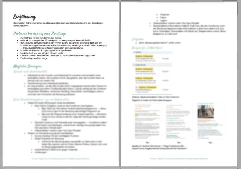 Auszug aus dem Protokoll vom tnb-Café no7 zum Thema Beratungsformen der Stoffwindelberatung