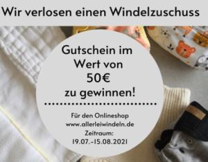 Gewinnspiel Stoffwindelzuschuss bei deine stoffwindel.com (Bildquelle: Deine Stoffwindel | https://www.instagram.com/p/CRi6hYPlI6_/)