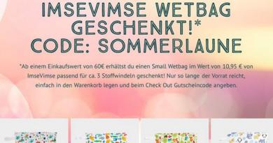 NaturaCare ImseVimse Wetbag Gratis zu jeder Bestellung ab 60 (Bildquelle: NaturaCare | https://www.instagram.com/p/CRn19noFnGe/)
