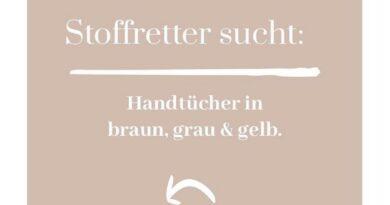 Stoffretter sucht Stoff, Handtücher aber auch anderes, für upcycling Stoffwindeln (Bildquelle: Stoffretter | https://www.instagram.com/p/CTjnu9BMKqn/)