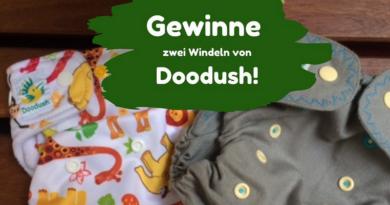 Gewinnspiel bei deine stoffwindel.com, zwei Doodush Windeln aus PUL und Wolle (Bildquelle: deine Stoffwindel | https://deine-stoffwindel.com/gewinnspiel/)