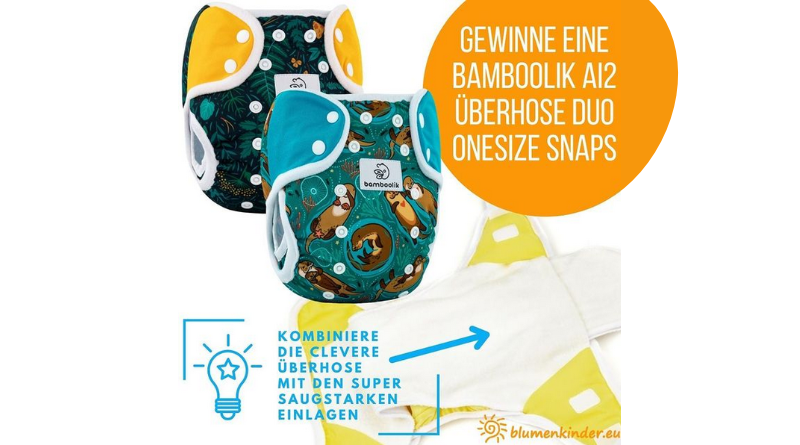 Blumenkinder Gewinnspiel bei Blumenkinder.eu auf Instagram. Gewinne eine Bamboolik Überhose (Bildquelle: Blumenkinder.eu | https://www.instagram.com/p/CUr3YrdL_M3/)