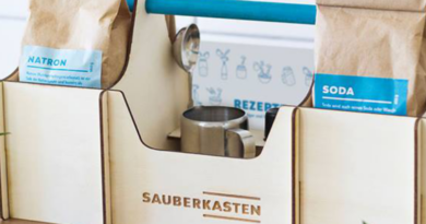 irkungsvolle Wasch- und Reinigungsmittel aus umweltschonenden Zutaten einfach selber machen. (Bildquelle: Sauberkasten | https://www.facebook.com/SauberkastenLeipzig/photos/a.591128904404972/1000015176849674)